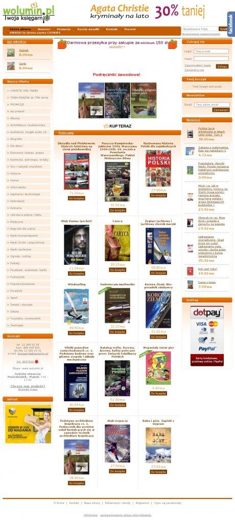 Woluminpl Księgarnia Internetowa Wirtualny Kraków
